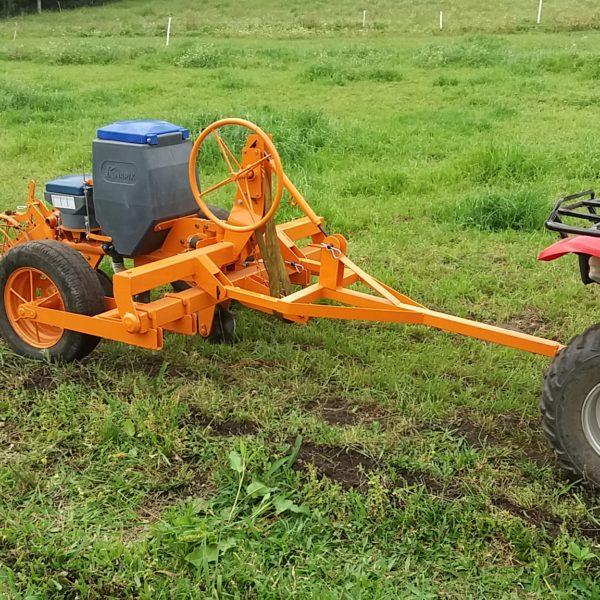 Plantadeira Arrasto 1 linha para Quadriciclo
